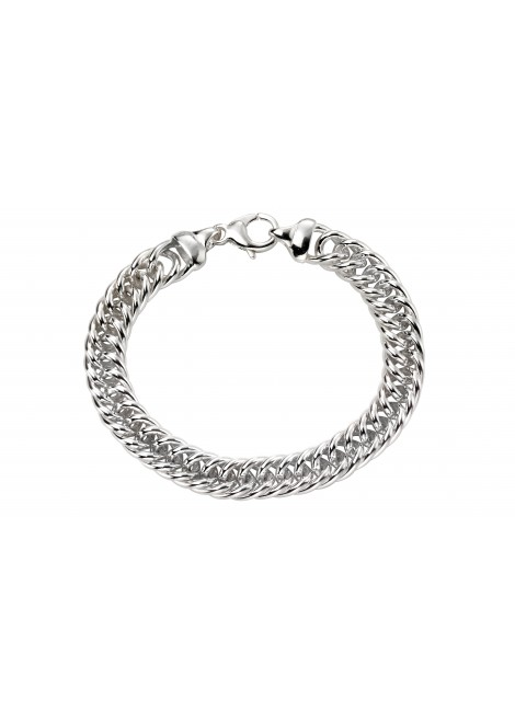 Heavyweight close curb bracelet 22cm