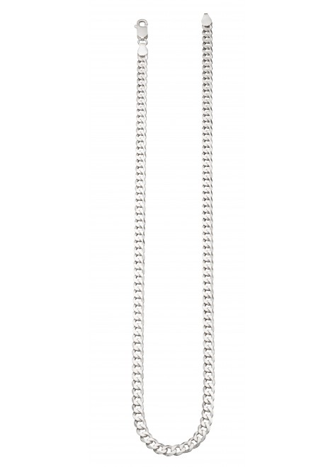 Mens curb chain necklace