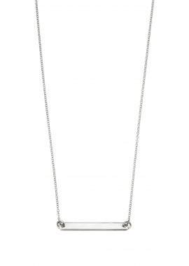 ID bar necklace 52+5cm