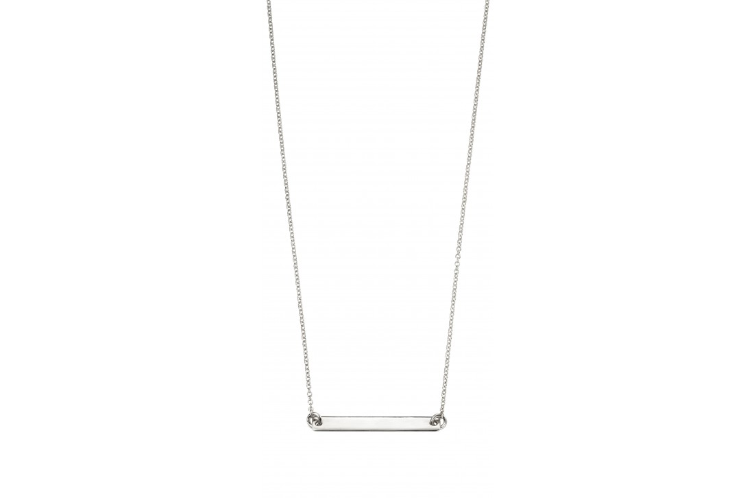 The Label Necklace