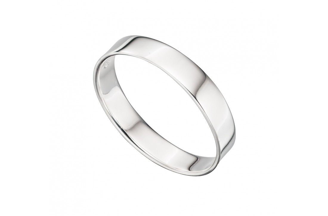 Square Cut Band ring