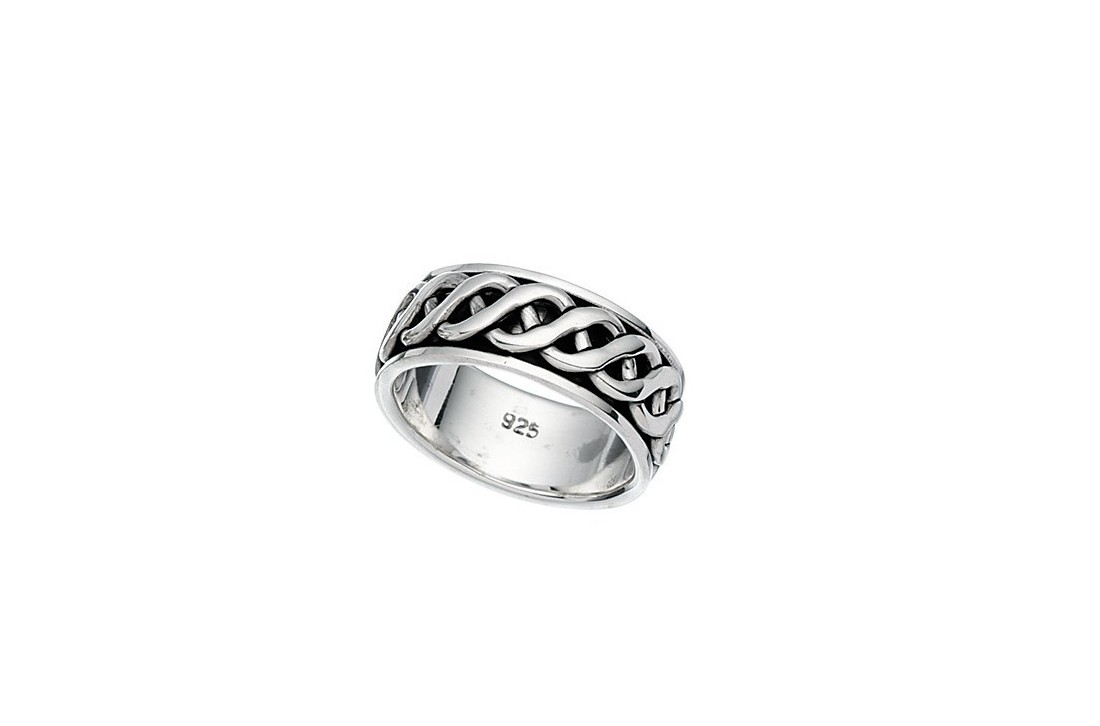 Celtic Design Spinner ring