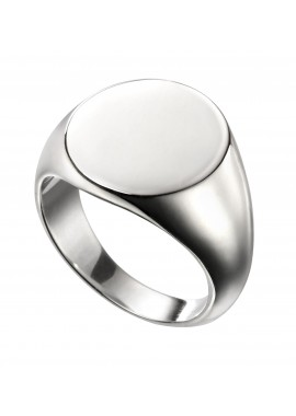 Oval signet ring