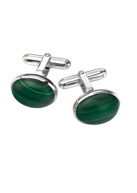 "The ""Malachite"" Cufflinks"