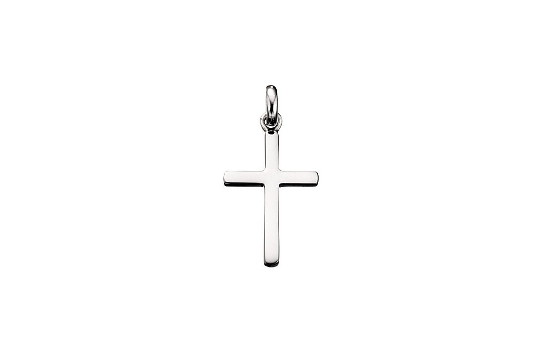 The Silver Cross Necklace